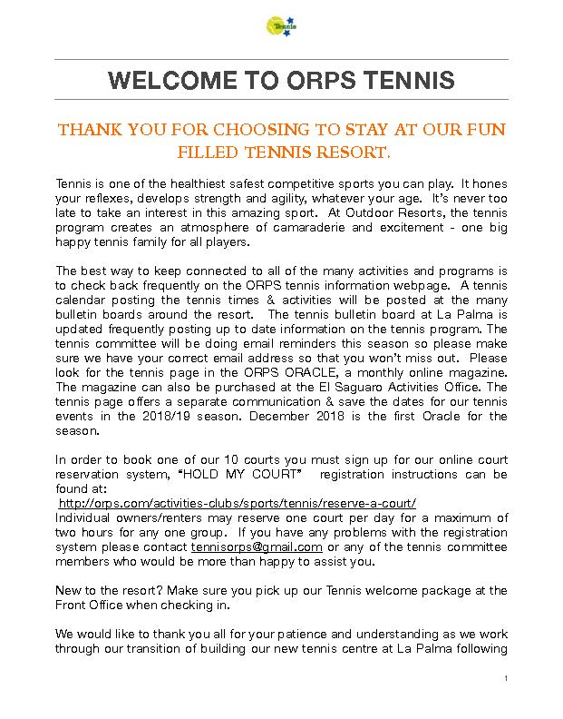 2018 ORPS Tennis Welcome back _Page_1 - ORPS